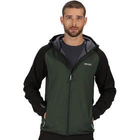 Regatta Arec II Softshell Jacket Men deep forest/black